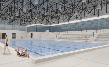 Aquapark: Co má být realizováno v první etapě